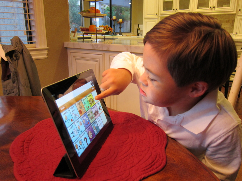 autism and ipads Autism (with a capital a) to me, says that i accept my child wholly i celebrate his differences and his quirky-ness i advocate diversity.