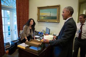 Obama and Faryal