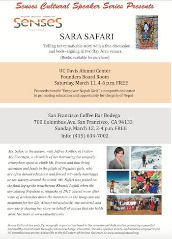 Sensescultural Sara safari